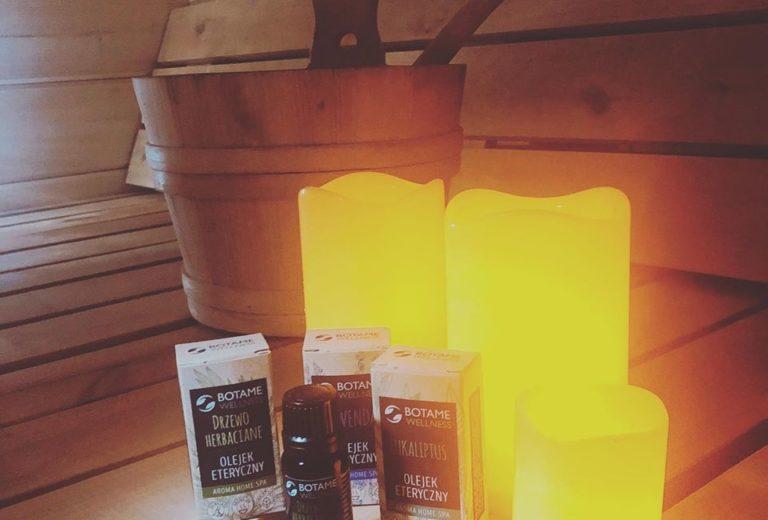 Aromaterapia w saunie